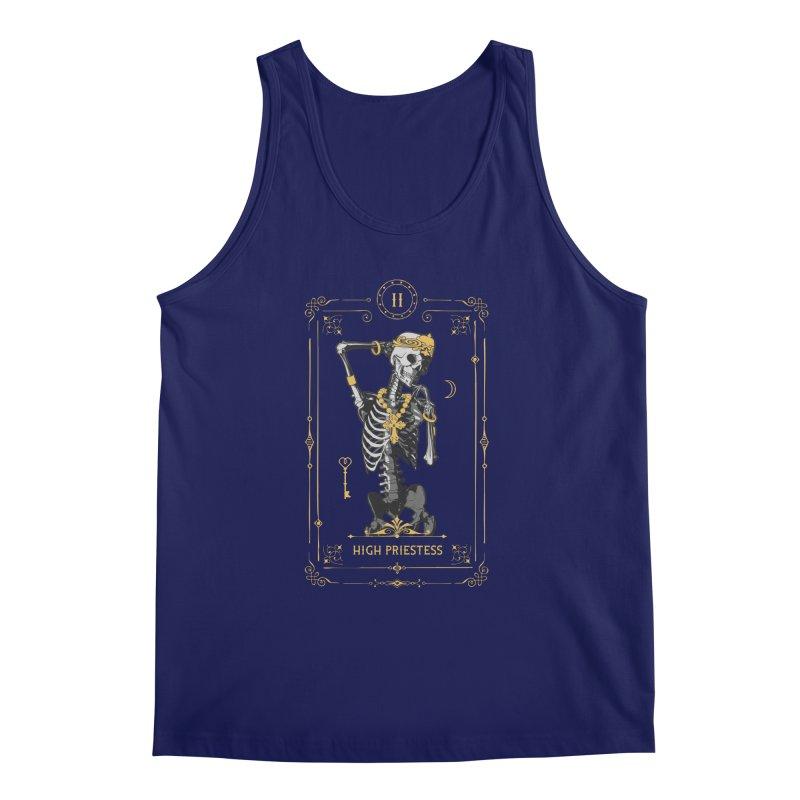 High Priestess II Tarot Card Men's Regular Tank by Grandio Design Artist Shop