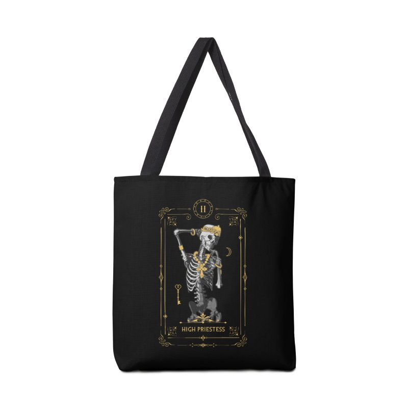 High Priestess II Tarot Card Accessories Bag by Grandio Design Artist Shop
