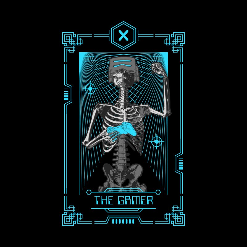 The Gamer X Tarot Card Women's Longsleeve T-Shirt by Grandio Design Artist Shop