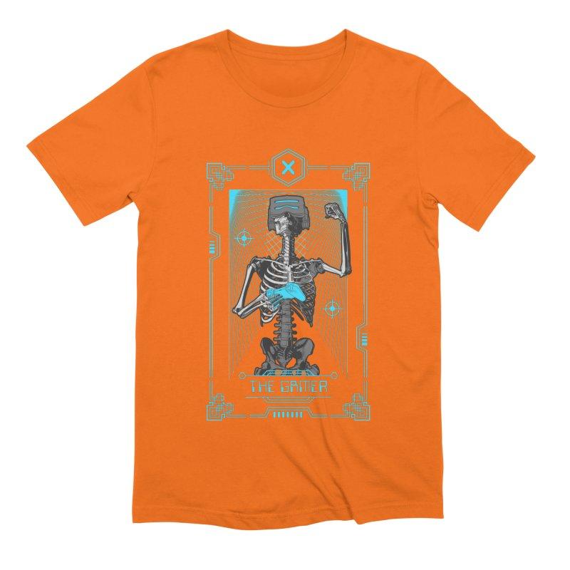 The Gamer X Tarot Card Men's Extra Soft T-Shirt by Grandio Design Artist Shop