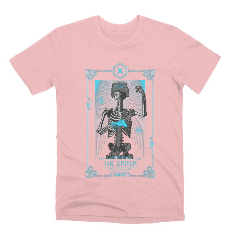 The Gamer X Tarot Card Men's Premium T-Shirt by Grandio Design Artist Shop