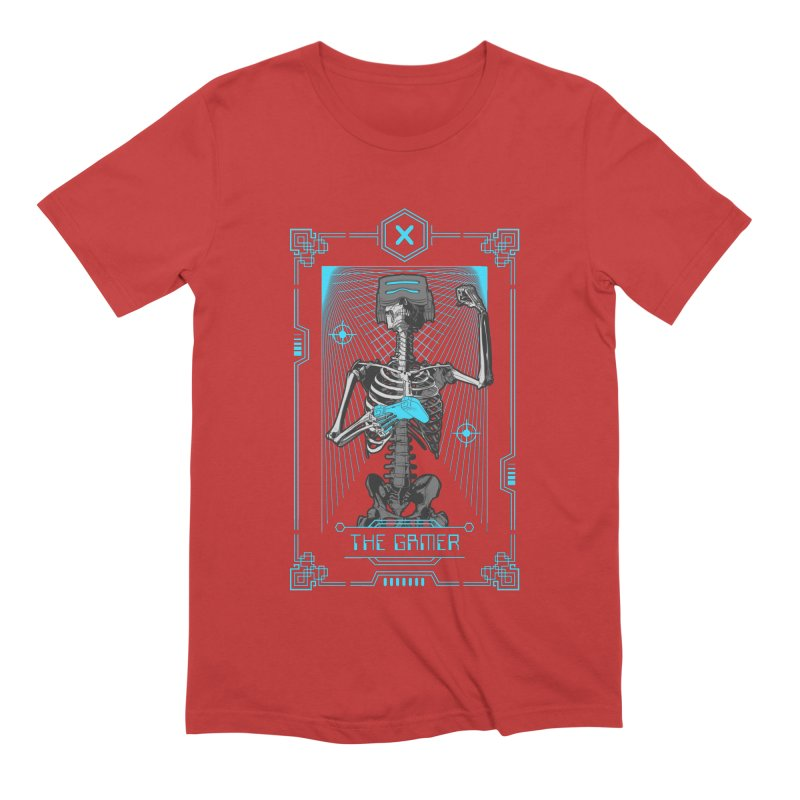 The Gamer X Tarot Card Men's Extra Soft T-Shirt by Grandio Design Artist Shop