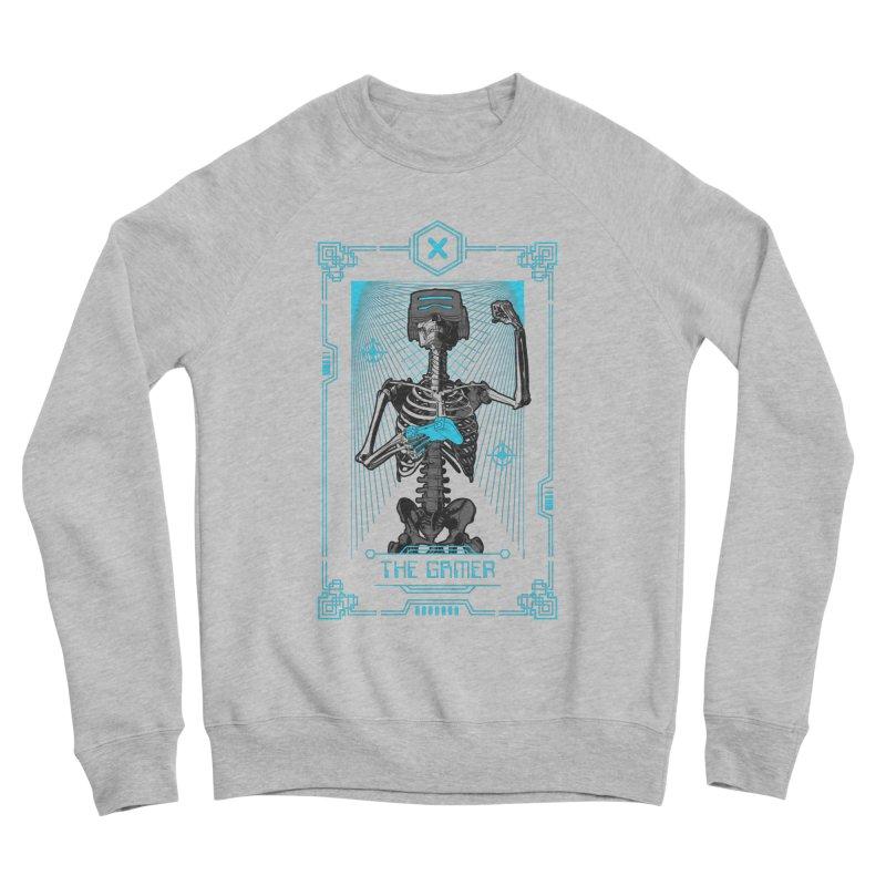 The Gamer X Tarot Card Women's Sponge Fleece Sweatshirt by Grandio Design Artist Shop