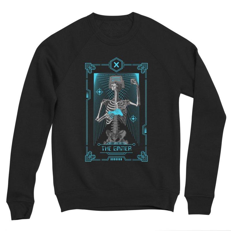 The Gamer X Tarot Card Men's Sponge Fleece Sweatshirt by Grandio Design Artist Shop