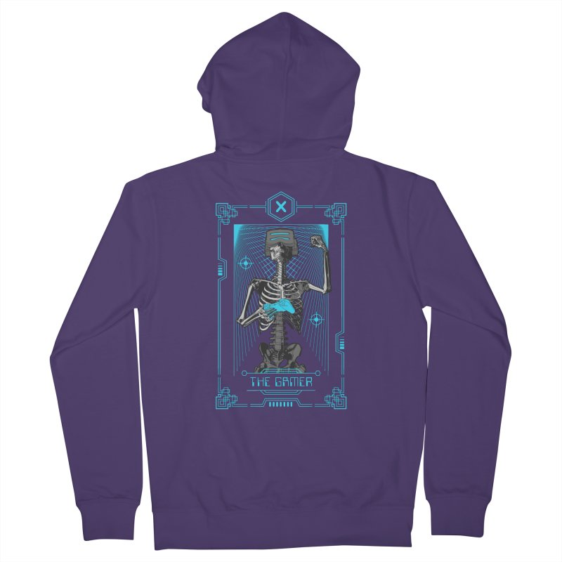 The Gamer X Tarot Card Women's Zip-Up Hoody by Grandio Design Artist Shop