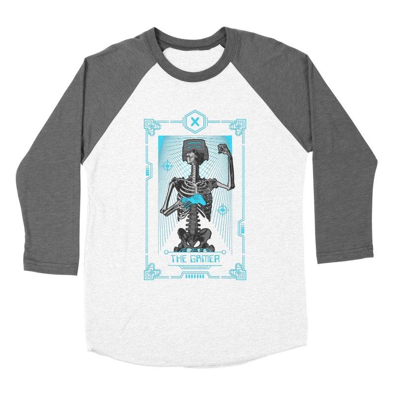 The Gamer X Tarot Card Women's Longsleeve T-Shirt by Grandio Design Artist Shop
