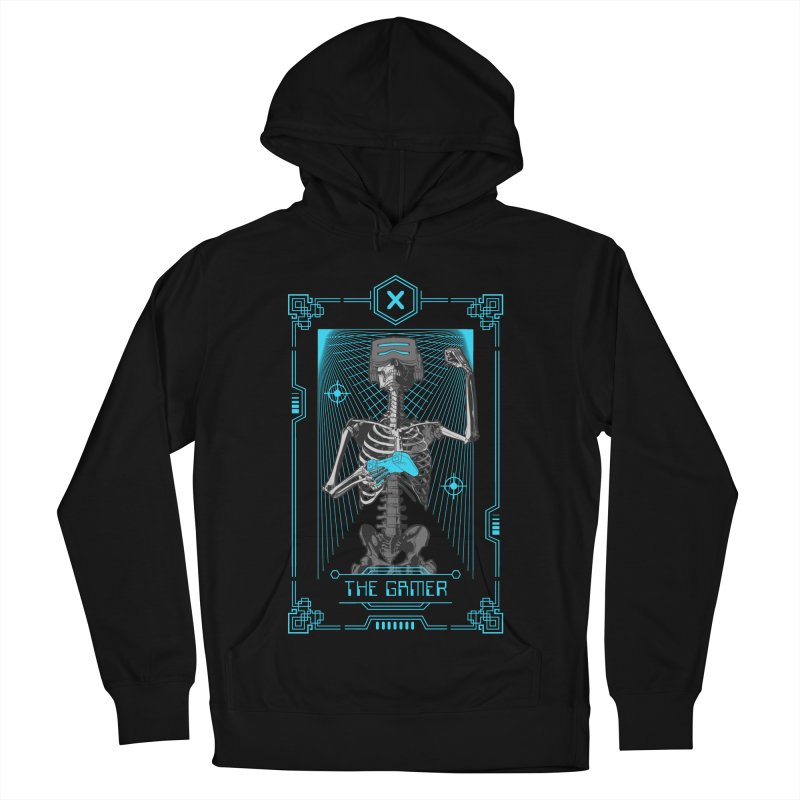 The Gamer X Tarot Card Women's French Terry Pullover Hoody by Grandio Design Artist Shop