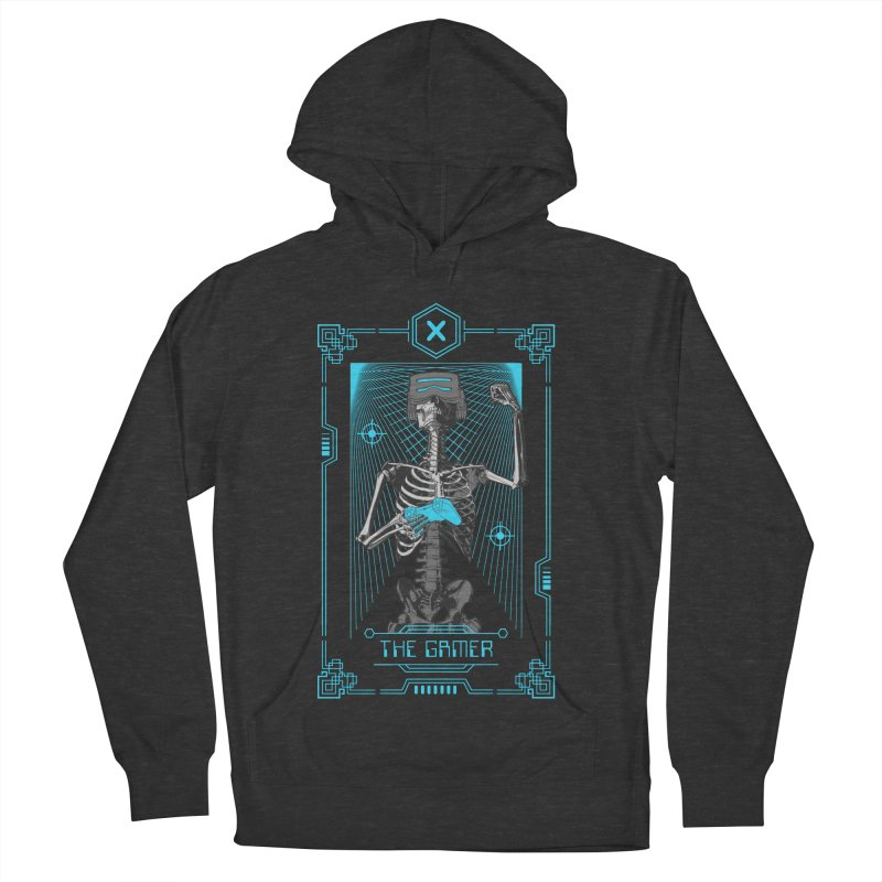 The Gamer X Tarot Card Men's French Terry Pullover Hoody by Grandio Design Artist Shop