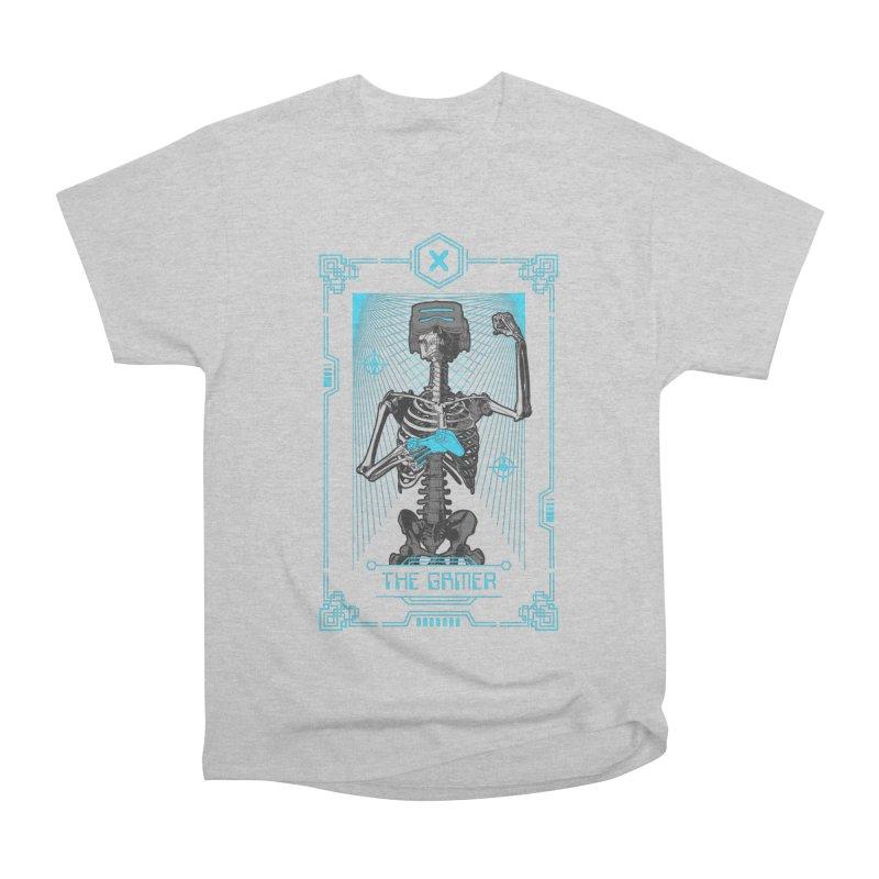 The Gamer X Tarot Card Women's Heavyweight Unisex T-Shirt by Grandio Design Artist Shop