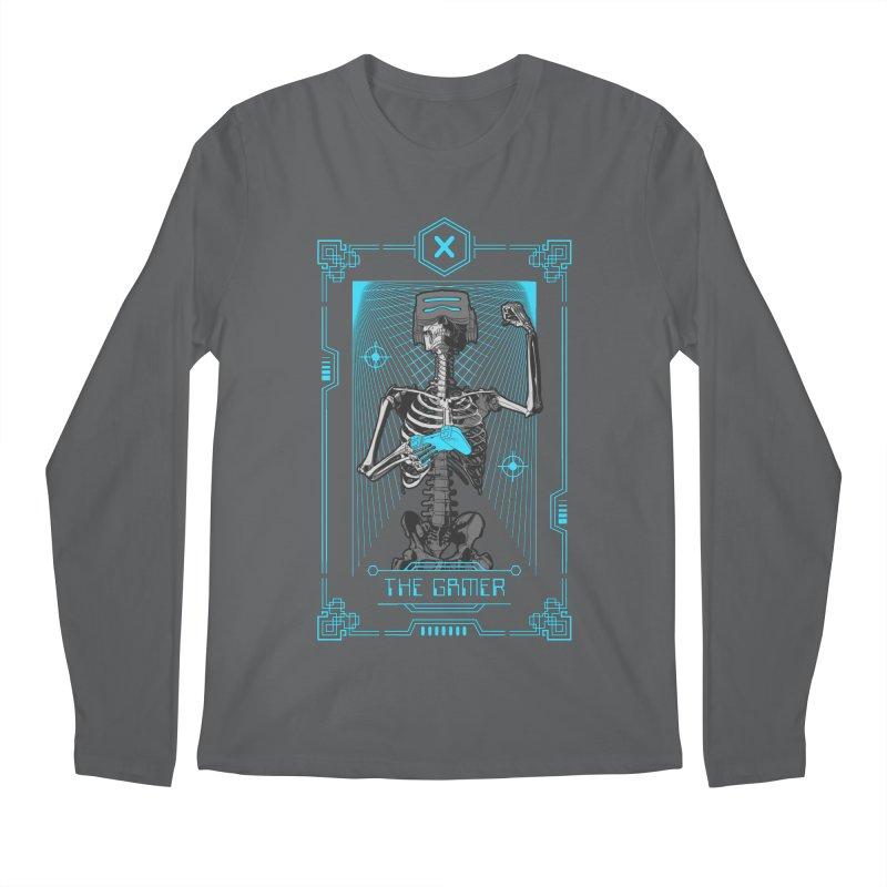 The Gamer X Tarot Card Men's Regular Longsleeve T-Shirt by Grandio Design Artist Shop
