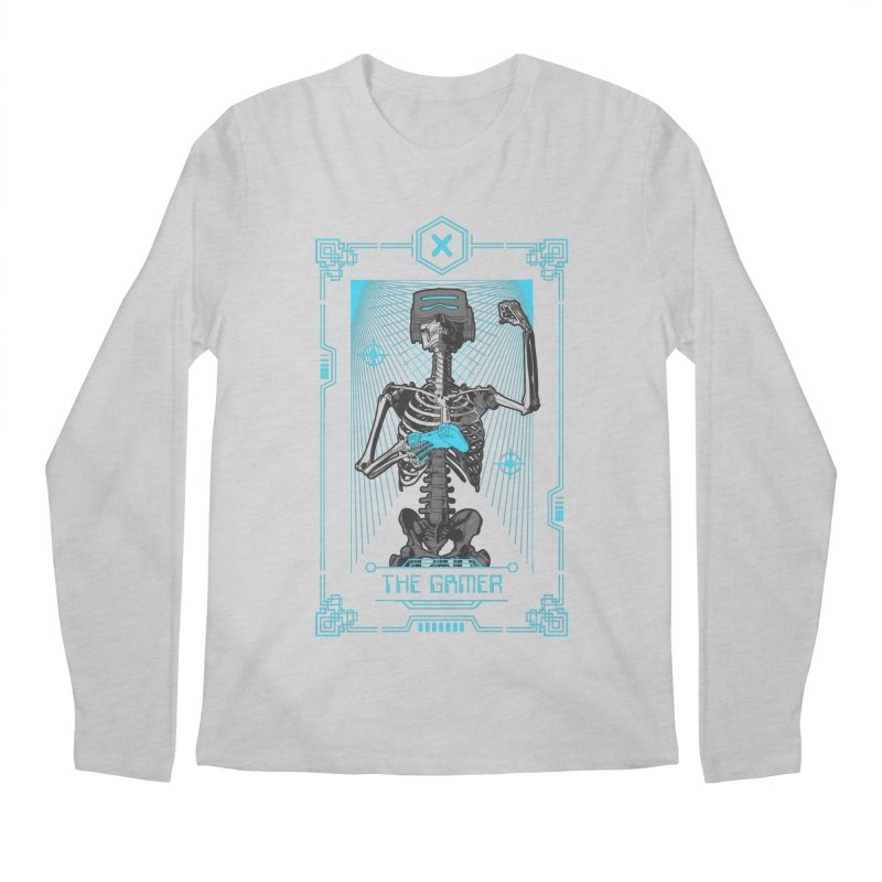 The Gamer X Tarot Card Men's Regular Longsleeve T-Shirt by Grandio Design Artist Shop