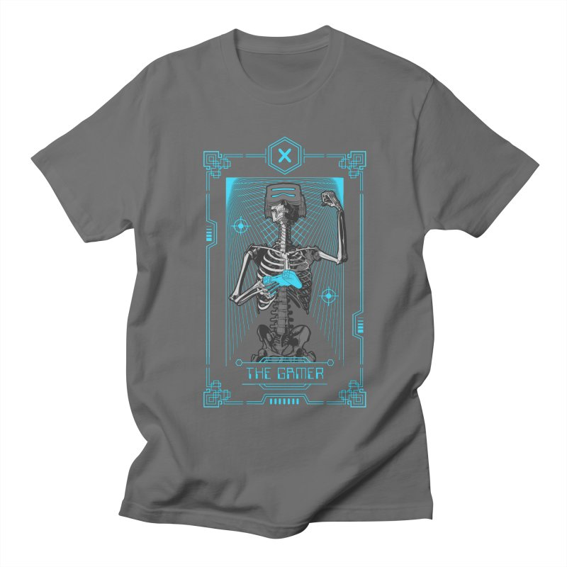 The Gamer X Tarot Card Women's Regular Unisex T-Shirt by Grandio Design Artist Shop
