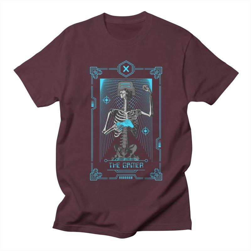 The Gamer X Tarot Card Men's Regular T-Shirt by Grandio Design Artist Shop