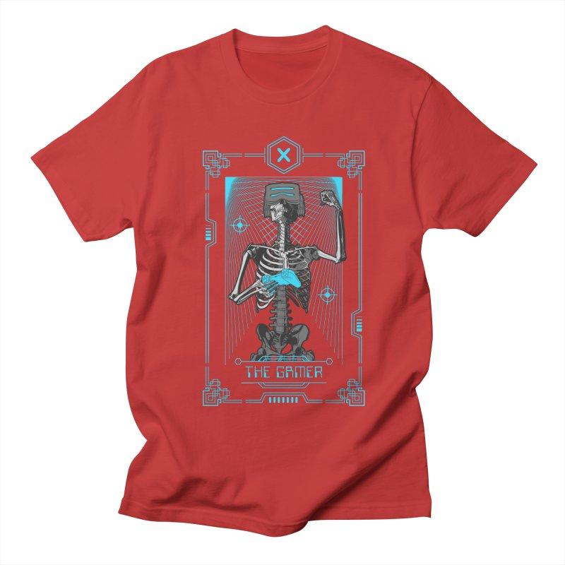 The Gamer X Tarot Card Women's Regular Unisex T-Shirt by Grandio Design Artist Shop