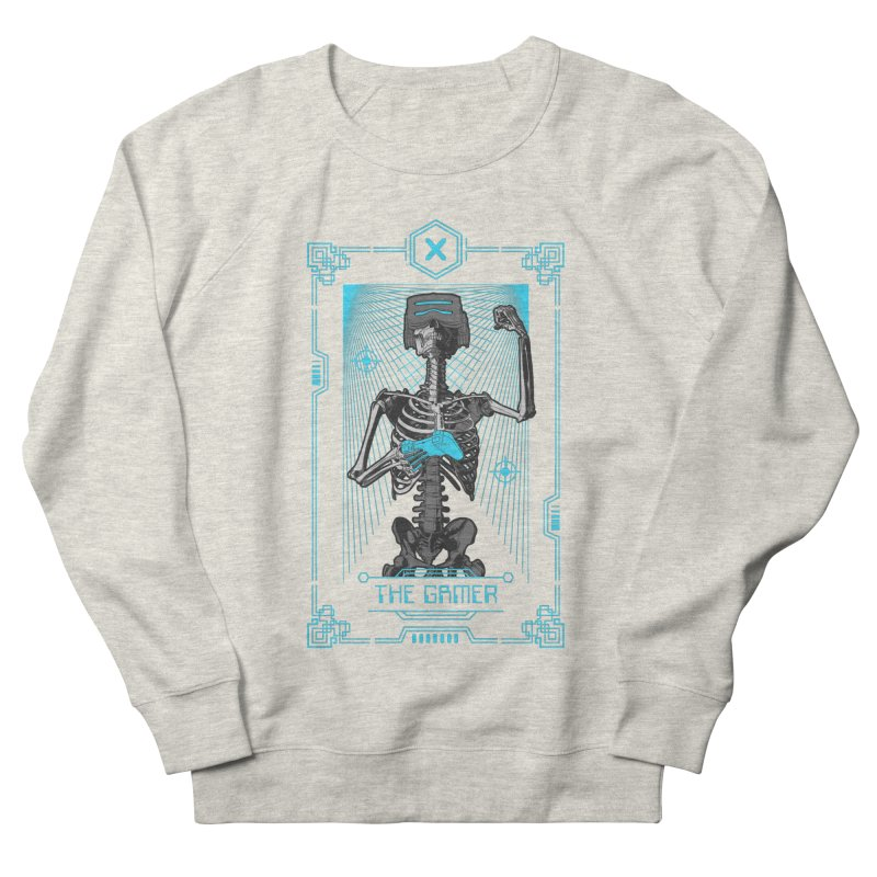 The Gamer X Tarot Card Women's French Terry Sweatshirt by Grandio Design Artist Shop
