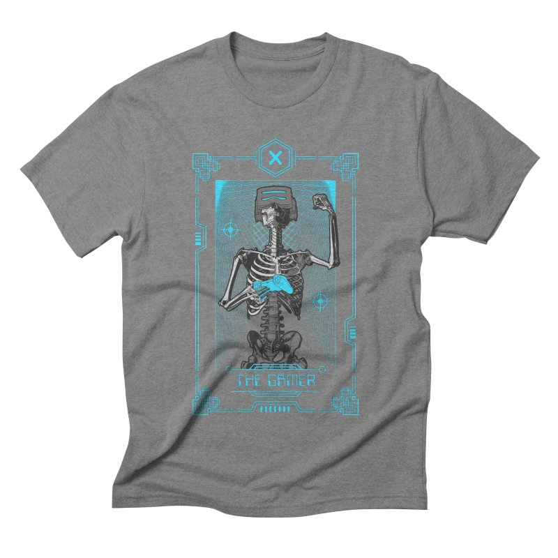 The Gamer X Tarot Card Men's Triblend T-Shirt by Grandio Design Artist Shop