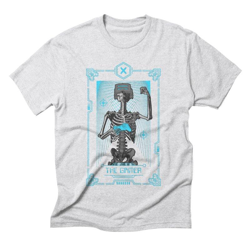 The Gamer X Tarot Card Men's Triblend T-Shirt by Grandio Design Artist Shop