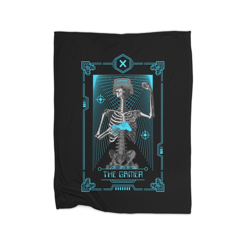 The Gamer X Tarot Card Home Blanket by Grandio Design Artist Shop