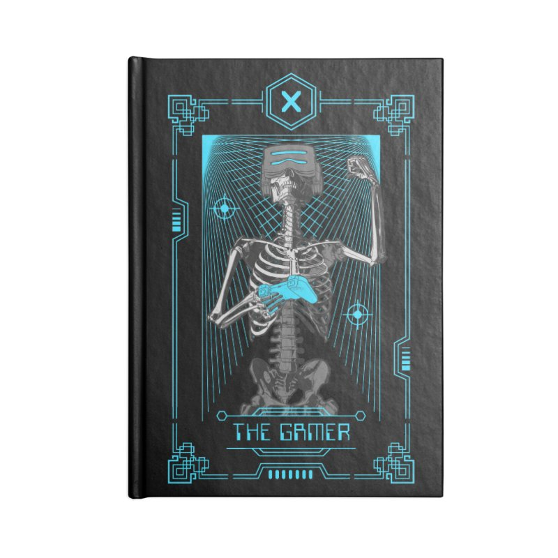 The Gamer X Tarot Card Accessories Notebook by Grandio Design Artist Shop