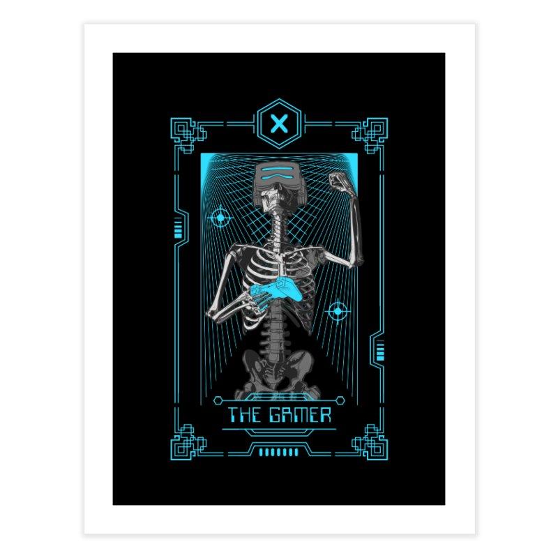 The Gamer X Tarot Card Home Fine Art Print by Grandio Design Artist Shop
