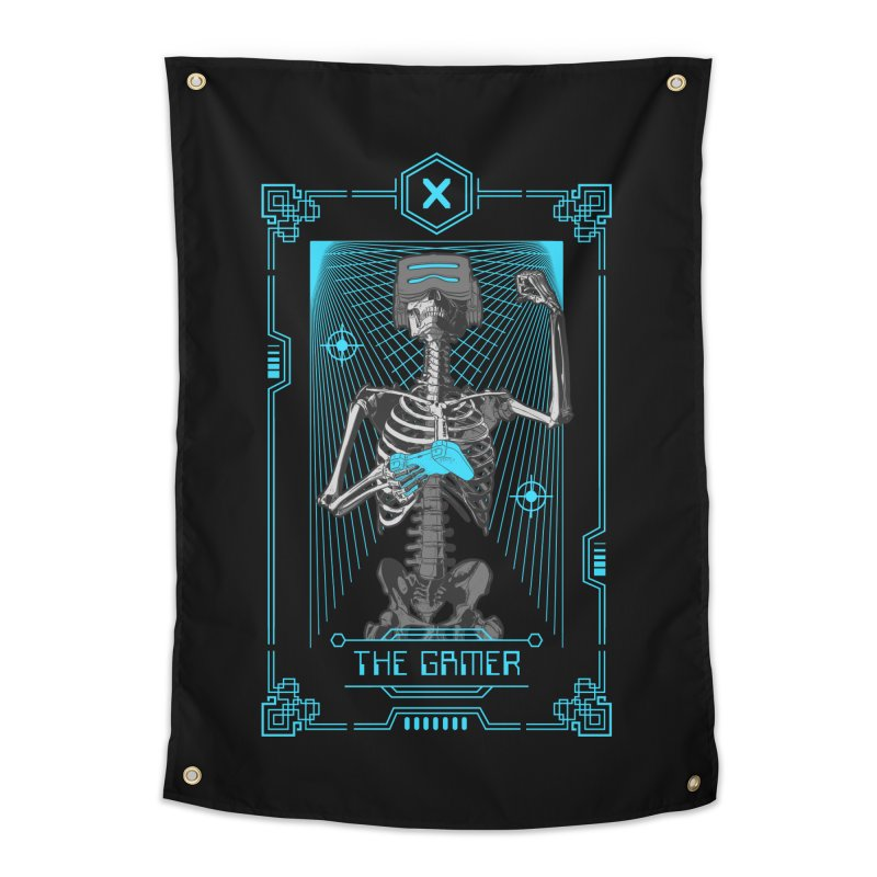 The Gamer X Tarot Card Home Tapestry by Grandio Design Artist Shop
