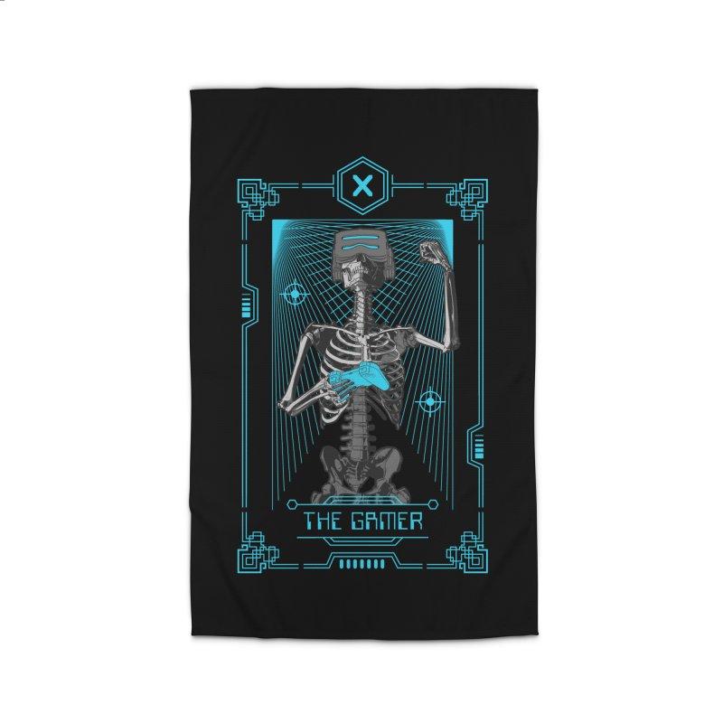 The Gamer X Tarot Card Home Rug by Grandio Design Artist Shop