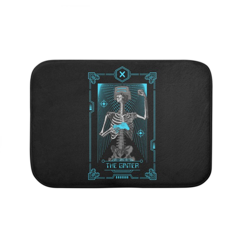 The Gamer X Tarot Card Home Bath Mat by Grandio Design Artist Shop