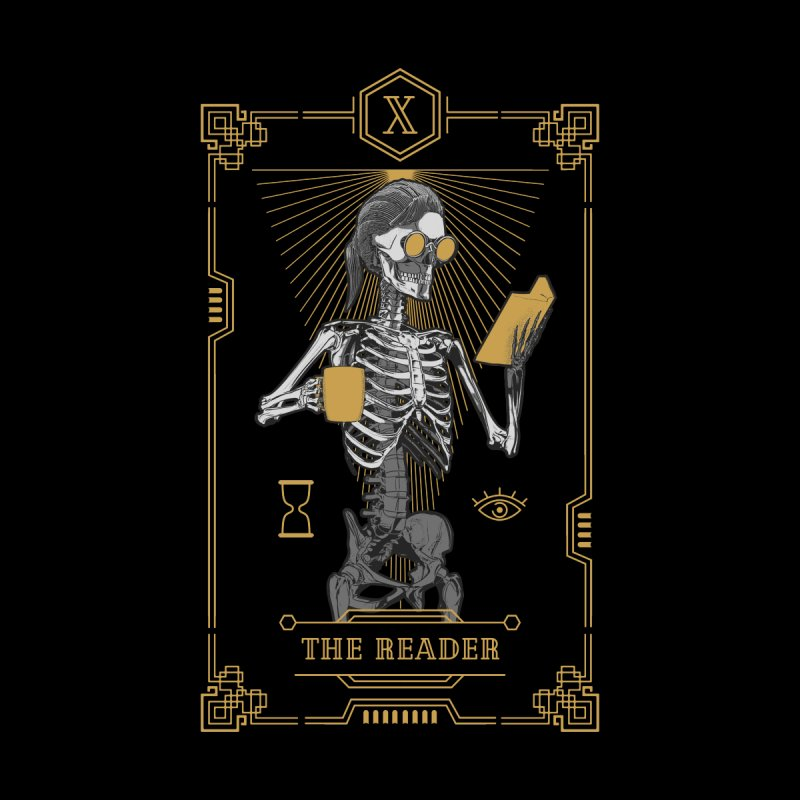 The Reader X Tarot Card Men's Zip-Up Hoody by Grandio Design Artist Shop