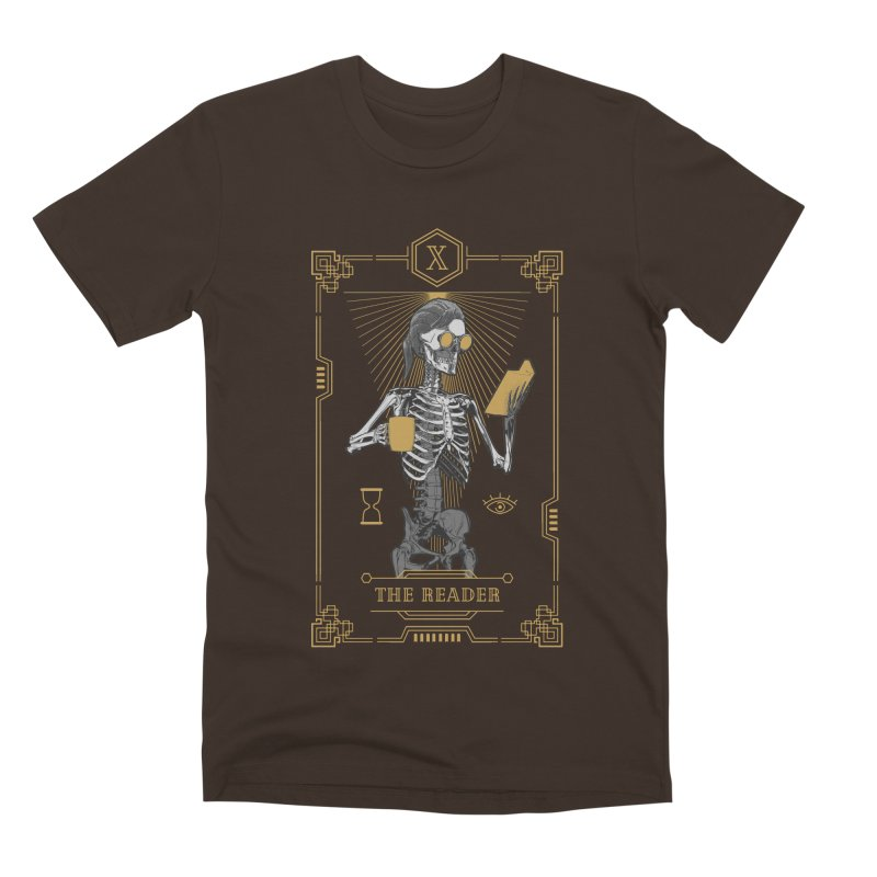 The Reader X Tarot Card Men's Premium T-Shirt by Grandio Design Artist Shop