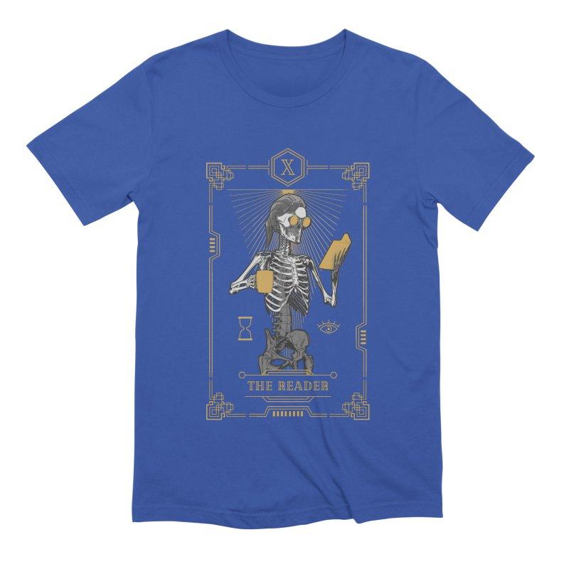 The Reader X Tarot Card Men's Extra Soft T-Shirt by Grandio Design Artist Shop