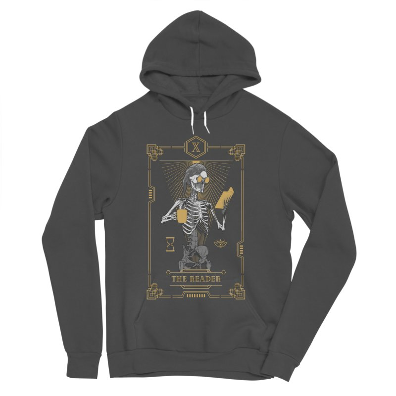 The Reader X Tarot Card Women's Sponge Fleece Pullover Hoody by Grandio Design Artist Shop