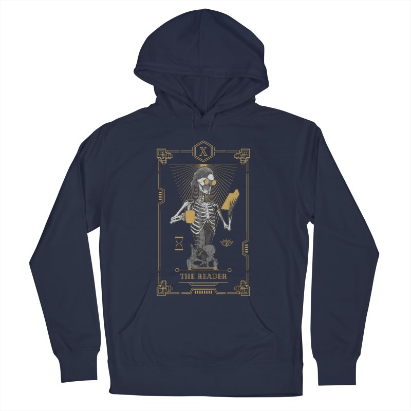 The Reader X Tarot Card Women's French Terry Pullover Hoody by Grandio Design Artist Shop