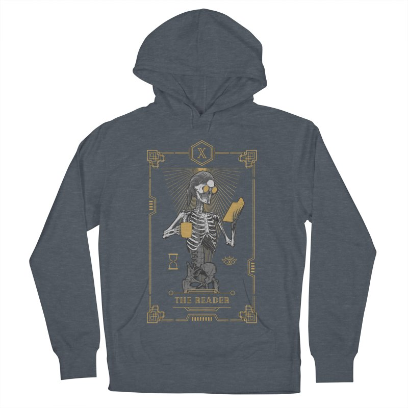 The Reader X Tarot Card Men's French Terry Pullover Hoody by Grandio Design Artist Shop
