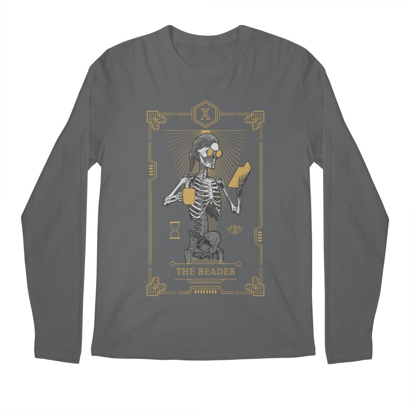 The Reader X Tarot Card Men's Longsleeve T-Shirt by Grandio Design Artist Shop