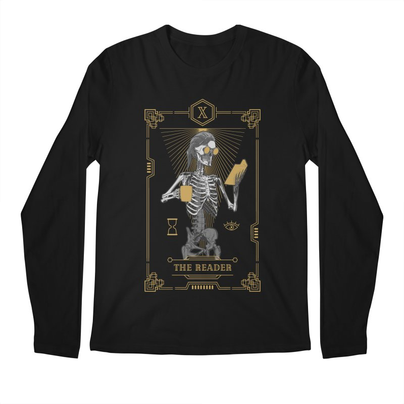 The Reader X Tarot Card Men's Regular Longsleeve T-Shirt by Grandio Design Artist Shop