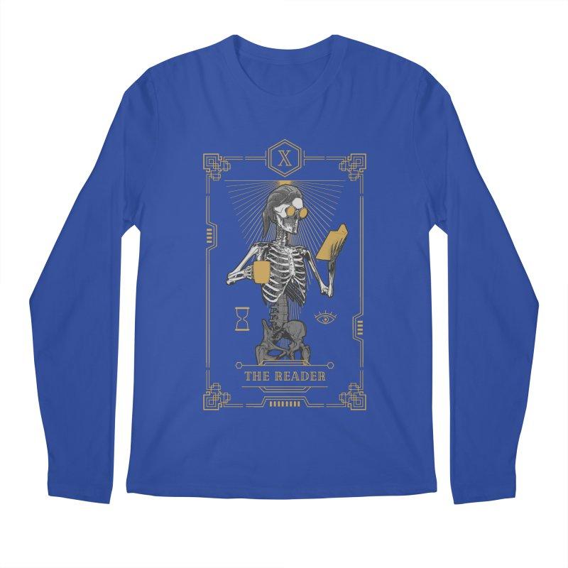 The Reader X Tarot Card Men's Regular Longsleeve T-Shirt by Grandio Design Artist Shop