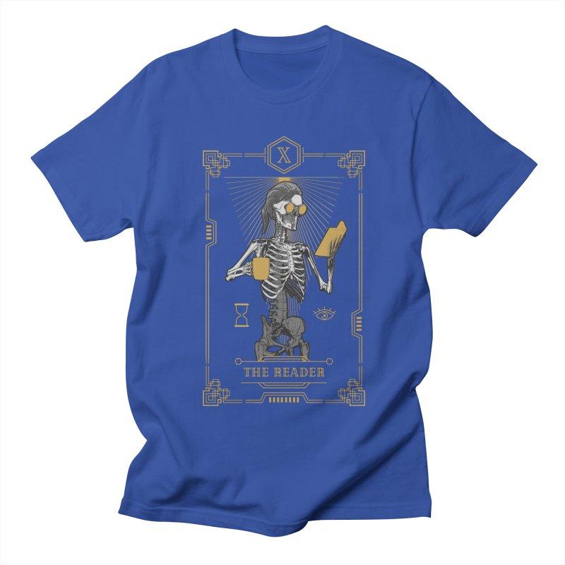 The Reader X Tarot Card Men's Regular T-Shirt by Grandio Design Artist Shop