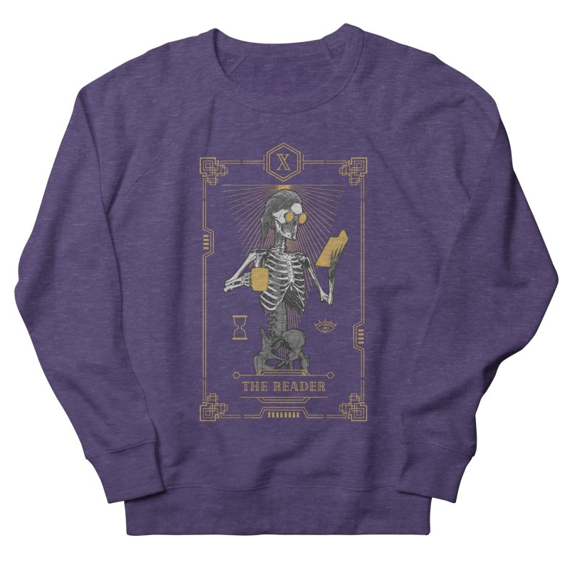 The Reader X Tarot Card Women's French Terry Sweatshirt by Grandio Design Artist Shop