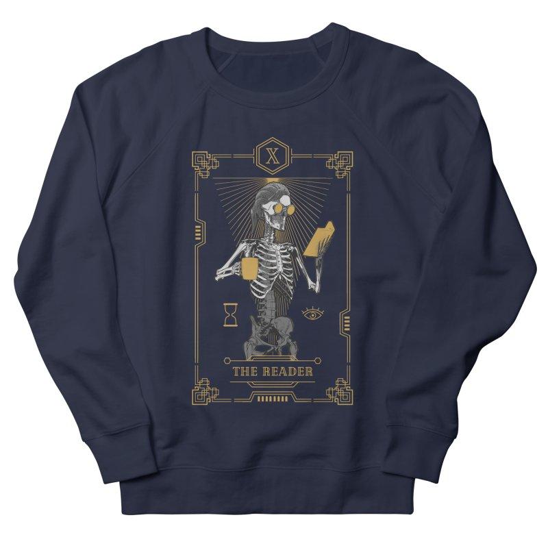 The Reader X Tarot Card Men's French Terry Sweatshirt by Grandio Design Artist Shop