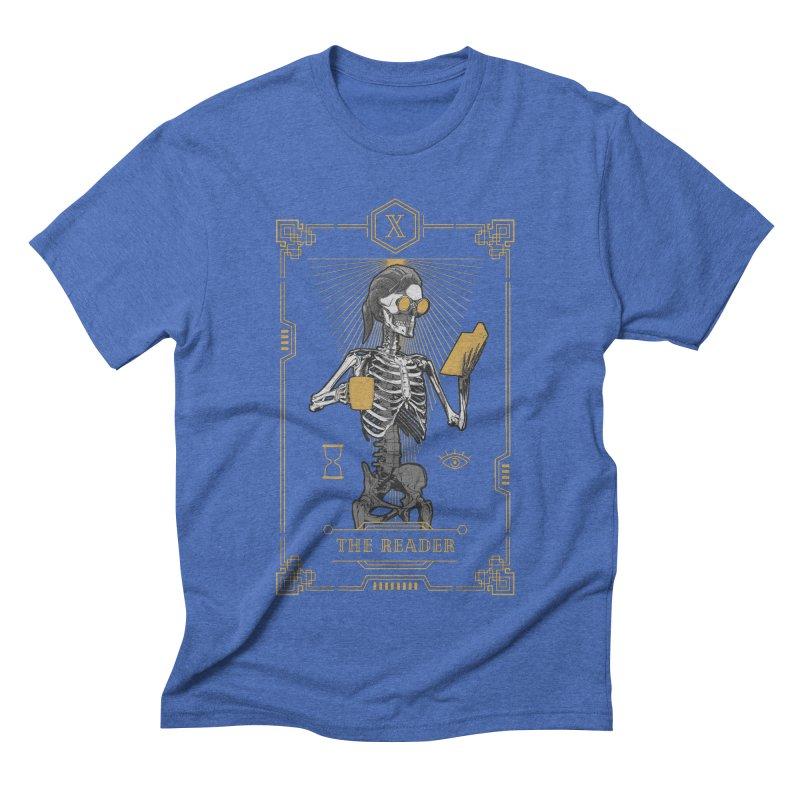 The Reader X Tarot Card Men's T-Shirt by Grandio Design Artist Shop