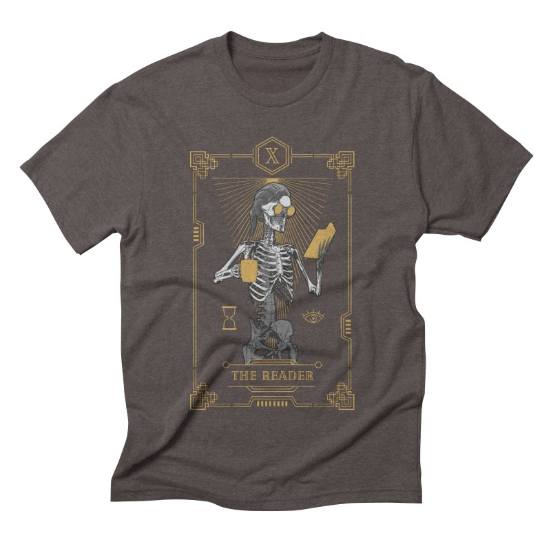 The Reader X Tarot Card Men's Triblend T-Shirt by Grandio Design Artist Shop