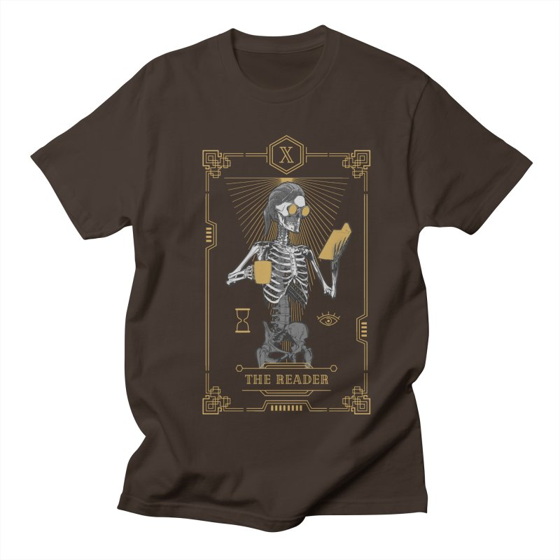 The Reader X Tarot Card Men's Regular T-Shirt by Grandio Design Artist Shop