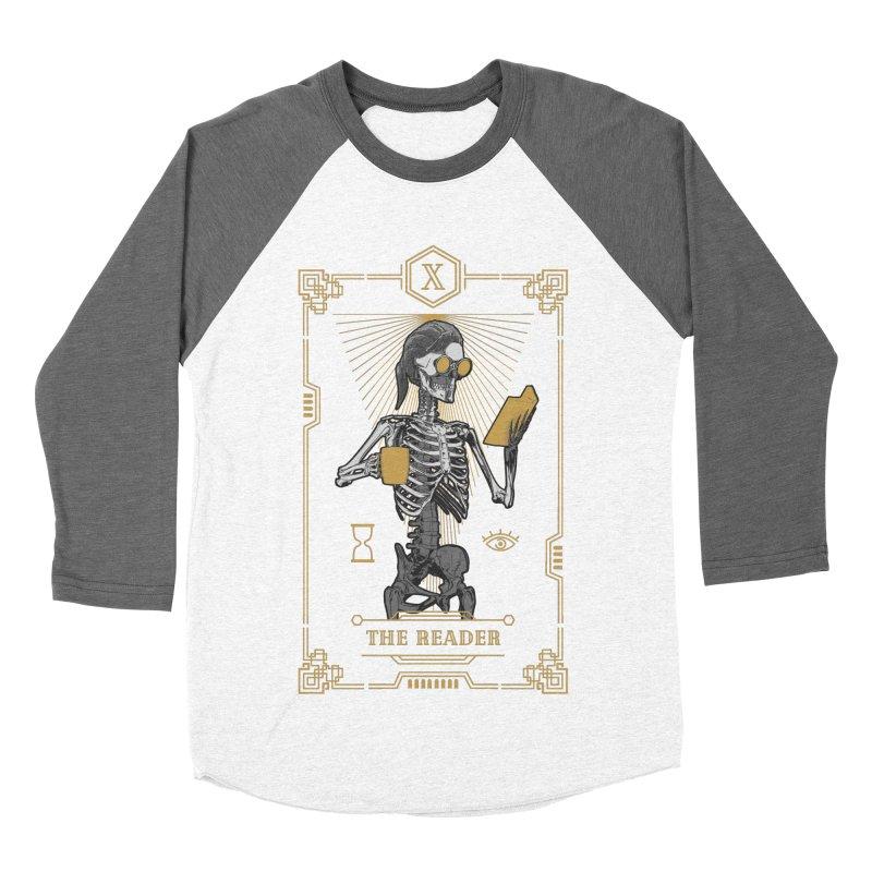 The Reader X Tarot Card Women's Baseball Triblend Longsleeve T-Shirt by Grandio Design Artist Shop