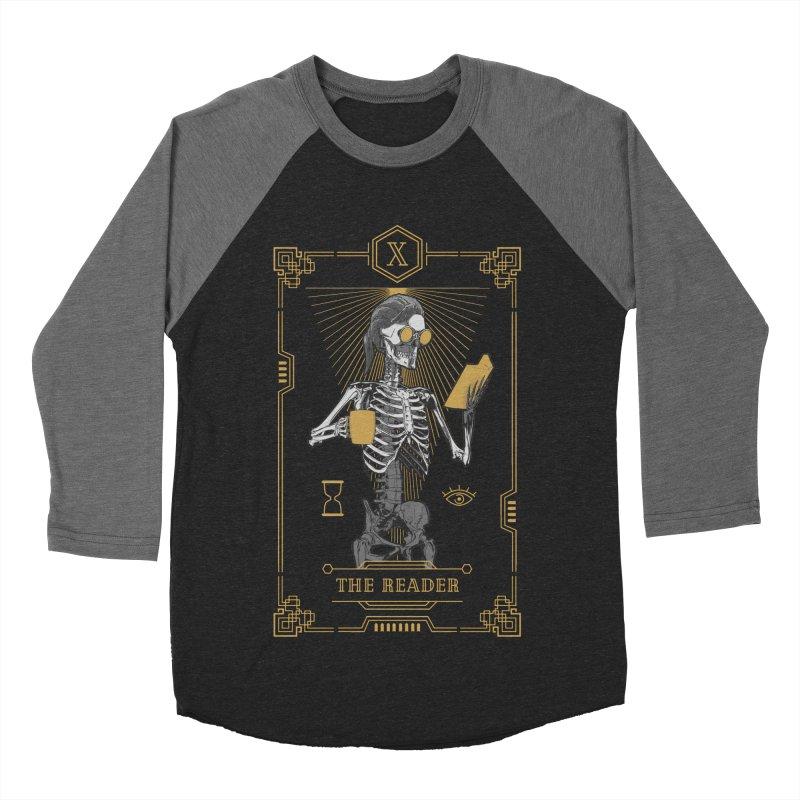 The Reader X Tarot Card Men's Baseball Triblend Longsleeve T-Shirt by Grandio Design Artist Shop