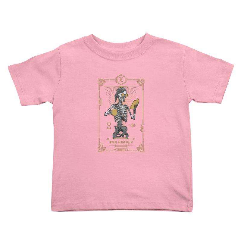 The Reader X Tarot Card Kids Toddler T-Shirt by Grandio Design Artist Shop