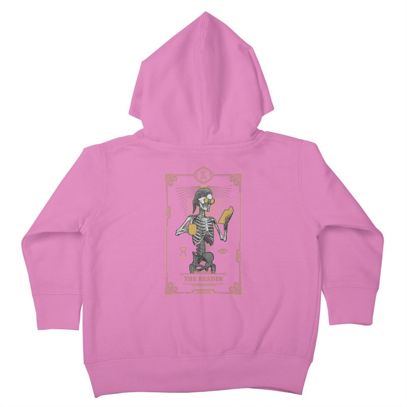 The Reader X Tarot Card Kids Toddler Zip-Up Hoody by Grandio Design Artist Shop