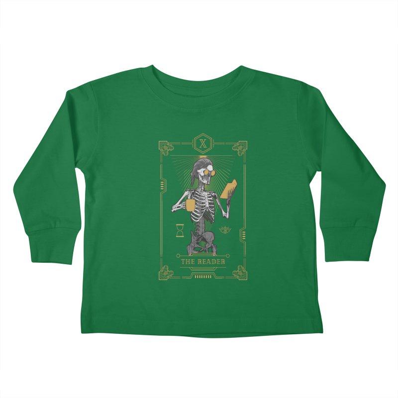 The Reader X Tarot Card Kids Toddler Longsleeve T-Shirt by Grandio Design Artist Shop