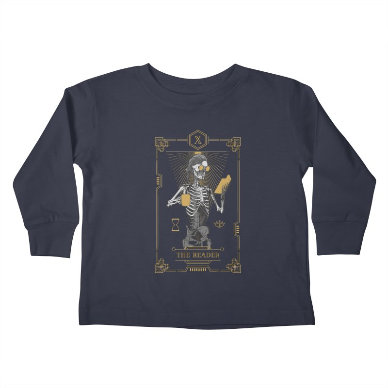 The Reader X Tarot Card Kids Toddler Longsleeve T-Shirt by Grandio Design Artist Shop