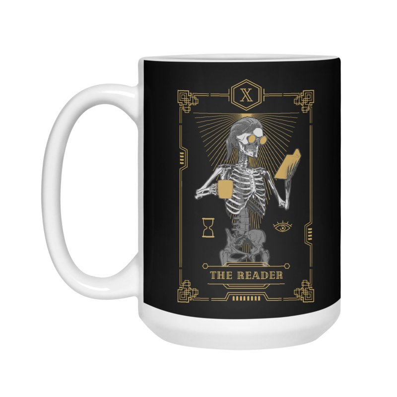 The Reader X Tarot Card Accessories Mug by Grandio Design Artist Shop