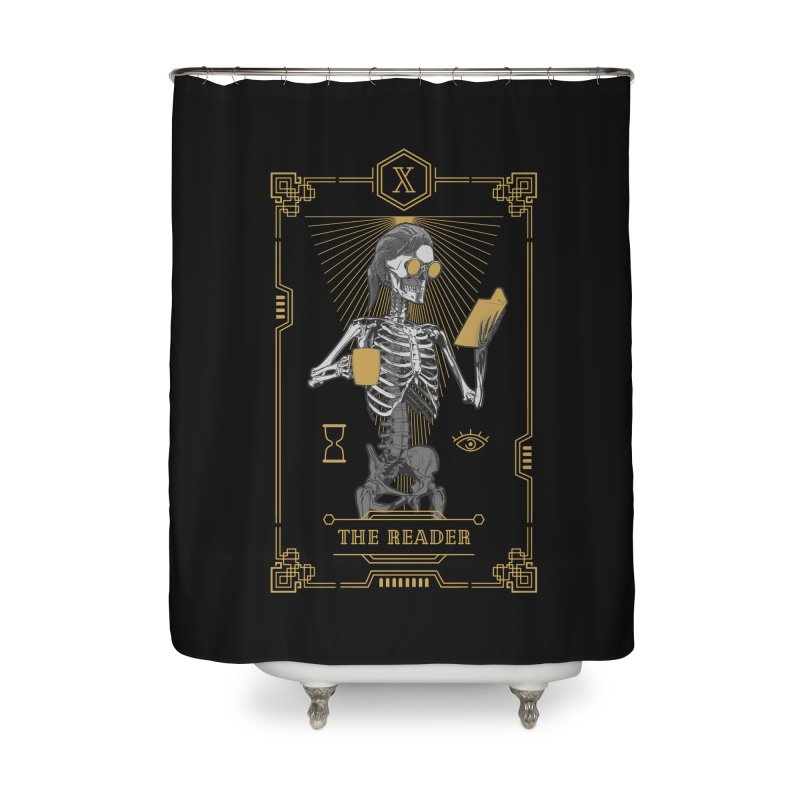 The Reader X Tarot Card Home Shower Curtain by Grandio Design Artist Shop